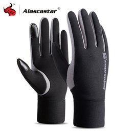 Motor Bicycles Australia - inter Motorcycle Men Waterproof Windproof Warm Fleece Lined Cycling Bicycle Cold Luvas Motor Guantes Touch Screen Gloves Winter Motorcyc...