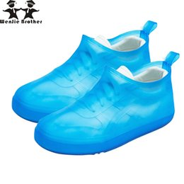 China wenjie brother quality rain cover Slip-on injection children rain boots men rubber shoes covers waterproof lady boots cover supplier child boot covers suppliers