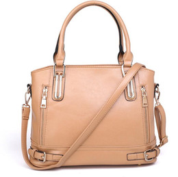 beige hand bag Australia - Litchi Grain Luxury Handbags Women Designer Brand Female Leather Messenger Shoulder Bag Women Ladies Hand Totes Bags Sac A Main