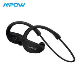 Wireless Headphones Mic Blue Australia - Original Mpow Cheetah Bluetooth Headphones Wireless Earbuds Portable Waterproof Earphone Sport Headphones With Mic&AptX Stereo