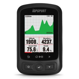 cycling computer stopwatch 2019 - IGPSPORT ANT+ GPS IGS618 Bike Bicycle Wireless Stopwatch Speedometer Waterproof IPX7 Cycling Bike Speedometer Computer #