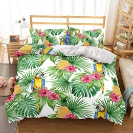Beautiful Modern Bedding Australia - Beautiful pineapple series 3D Bedding Set Print Duvet Cover Set Lifelike Bed Sheet ,TWIN.FULL.QUEEN.KING.