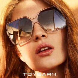 big square sunglasses for men Australia - 2019 New Brand Designer Oversized Sunglasses Women Men Big Frame Square Sun Glasses For Female Male Vintage Gradient Eyewear