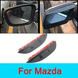 Acessórios Car Espelho Retrovisor Anti Escudo Chuva Para Mazda CX-5 2014 Mazda 2 3 5 6 8 CX3 CX4 CX5 CX7 CX9 sinal limpo Condução Segura em Promoção