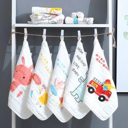 $enCountryForm.capitalKeyWord Australia - 5pcs pack 100% Cotton Bamboo FiberNewborn Baby Towels Saliva Towel Nursing Towel Baby Boys Girls Bebe Wash cloth Handkerchief