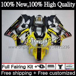 $enCountryForm.capitalKeyWord Australia - Body For HONDA CBR900 RR Yellow black CBR 929RR CBR 900RR CBR929RR 00 01 54PG21 CBR 929 RR CBR900RR CBR929 RR 2000 2001 Fairing Bodywork