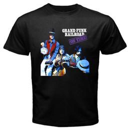 $enCountryForm.capitalKeyWord UK - New Grand Funk Railroad On Time Music Men's Black T-Shirt fear cosplay mens pride dark t-shirt white black grey red trousers tshirt