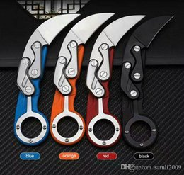 $enCountryForm.capitalKeyWord NZ - drop-shipping Cheap Caswell Tactical knife Karambit 440C Blade Nylon Plus Glass Fiber Handle EDC Pocket Knives Xmas Gift knife free shipping