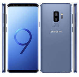 camera 12mp Australia - Refurbished phone Original Samsung Galaxy S9 plus G965U G965F Unlocked Cell Phone 64GB 128GB 256GB 5.8 6.2inch 12MP Single Sim 4G Lte