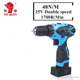 hand drill bits 2019 - 25V lithium battery drill hole hand Wireless Cordless electric drill bit driver charger cordless electric screwdriver po