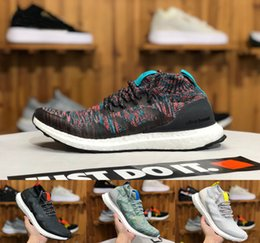 1bed2b688 2019 Top Quality Real Ultra Boosts Uncaged Running Shoes for Men Women  Triple Black White Authentic ultraBoost Sport Sneakers Sock Trainers