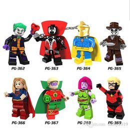 $enCountryForm.capitalKeyWord UK - Super Heroes Blink Figure Comic Spawn Joker Dr Fate Rorschach Green Lantern Sets Model Kits Toy PG8085