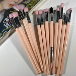 eye shadow 12 Australia - Makeup brushs kit 12 pcs   lot plastic Handle Brush contour Concealer nature bristles synthetic hair eye Shadow brush tool
