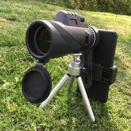 telescope powerful 2019 - Monocular 40x60 Powerful Binoculars High Power Zoom Handheld Telescope Professional Hunting Phone Tripod Camera discount