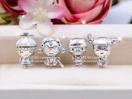 Story Charms Australia - 2019 Mother's Day Release 925 Sterling Silver Family Stories Collection Charm With Enamel beads Fits European Pandora Bracelets