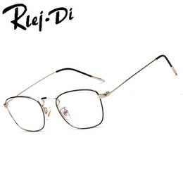 3dfd1159f FA226 Liga de Titânio Óculos de Armação Homens Semi Aro Quadrado Óculos De  Prescrição De Vidro Miopia Molduras Ópticas