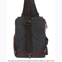 messenger shoulder bag canvas backpack NZ - Designer-Fashion Shoulder Bags Women Cross Body Messenger Bag Waterproof Shoulder Backpack Travel Rucksack Canvas Sling Bag