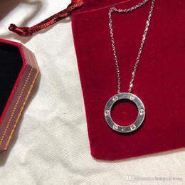 $enCountryForm.capitalKeyWord Australia - ladies necklace womens jewelry luxury lady 925 Silver cart collana pendants gold chain pendentif ladies collier femme original box