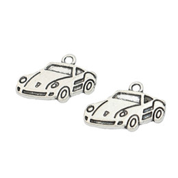 $enCountryForm.capitalKeyWord UK - car charm KJjewel Antique Silver Plated Car Charms Pendants fit Jewelry Diy Jewelry Making Bracelet Handmade 20x14mm