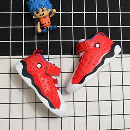 gym hook Canada - 2020 New Jumpman 13 Kids basketball shoes Children Outdoor sports shoes Gym Red Chicago Boys Girls 13s luxury Athletic sneakers EUR 24-35