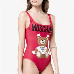 011c00ef75b SmalleSt bikini Swimwear online shopping - MOSC Small Bear Fashion Swimwear  Bikini for Women Letter Brand