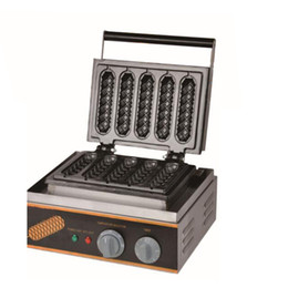Hot dog maker macHine online shopping - FY Commercial Use Electric Lolly Waffle Makers Machine French Hot Dog Waffle Baker Machine