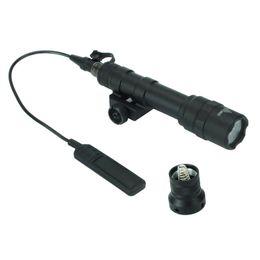 $enCountryForm.capitalKeyWord Australia - Tactical M600B Scout Light M600 LED Gun Light 400 lumens Hunting Rifle Flashlight with Integrated 20mm Weaver rail