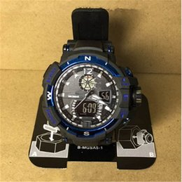 Discount black white g shock watch - new arrival g style watches mens sport waterproof luxury shock wrist watches black strap hot sellling factory wholesale