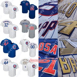 749ef42c6 Baez jersey online shopping - Chicago Javier Baez Cubs Jersey Anthony Rizzo Kris  Bryant Kyle Schwarber