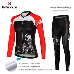 cycling jersey skinsuit Australia - New Bicycle Women's Team Bicycle Mountain bike jersey Competition piece jersey long tight Winter Fleece cycling skinsuit ciclismo speedwear