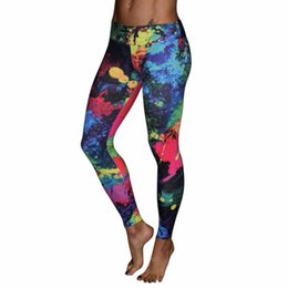 $enCountryForm.capitalKeyWord NZ - 2017 Brand Women's Tracksuits Gym Fitness leggings Slim Colorful Running Tights For Women Breathable Yoga Pants #YEB #958906
