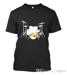 $enCountryForm.capitalKeyWord Australia - Cotton Men t-shirt New DW Drum Logo T-SHIRT Music Instrument Drum Set Men Tee Size S - 5XL O-Neck Streetwear Tees
