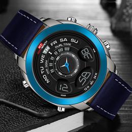 Dual Luxury Watches Australia - KATWACH New Watch Men Top Brand Luxury Famous Dual Display Digital Quartz Wrist Watches for Men Clock Male Wristwatch Waterproof