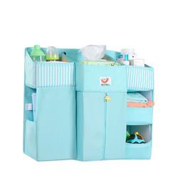 $enCountryForm.capitalKeyWord UK - New Crib Bag Newborn Bed Organizer Storage Pocket Baby Hanging Bag Crib Nursing Basket Infant Accessories
