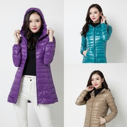 hot women france UK - Designer Jacket Winter Coats Luxury Women Clothes 2020 Woman France Outerwear Goose Slim Parkas Duck Long Hot Down Jacket Warm Winter Coats