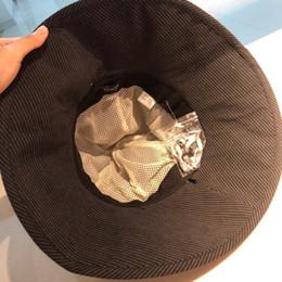 Wool Hunting Hats NZ - 2019 Luxury Designer Diamonds bucket hats for men Foldable outdoor polo Hunting Fishing hip hop Fisherman caps Wide Brim