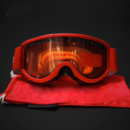 Wholesale Wholesale-Brand Goggle Tpu Sand Control Protect Eye Ski Goggles Outdoors Skiing Glass Fashion Popular With Red Black Blue Color 55hg J1