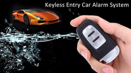 unlock kits UK - 2016 New Arrivals EC001 Universal Rolling Code PKE Keyless Entry Car Alarm System Auto Lock Unlock Remote Central Kit Free Shipping