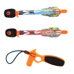 $enCountryForm.capitalKeyWord Australia - Safety Rocket Slingshot Set Elastic Arrow Rocket Helicopter Flying Toy Party Fun Gift Parent-child Shooting Intellectual development Outdoor
