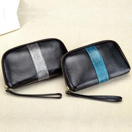 Hand Carrying Bag Australia - Charm2019 Take Ma'am Genuine Leather Mini- Microcheiria Mom Hand Carry Packet Mobile Phone Small Change Package
