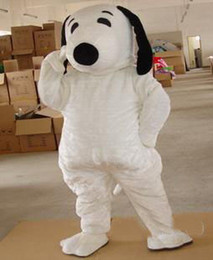 Snoopy coStumeS online shopping - 2019 High quality Adult Size Snoopy Dog Mascot Costume Halloween Chirastmas Party Fancy Dress