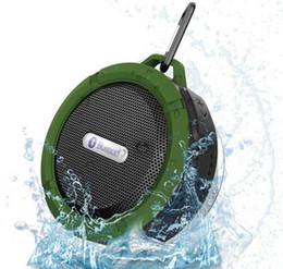 Vente en gros Étanche Haut-parleurs de douche sans fil Bluetooth Longue durée de vie de la batterie Prise de carte micro Fonction radio Fonctions Version 3.0 Haut-parleur extérieur portable