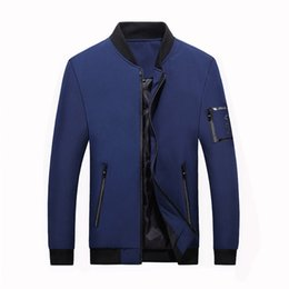 $enCountryForm.capitalKeyWord Australia - Autumn Jacket Men 2019 Fashion Korean Style Light Slim Plus Size 120kg Black Bomber Jacket Casual Coat Male Thin Baseball