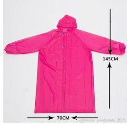 $enCountryForm.capitalKeyWord Australia - Long Use Rain Coat Women EVA Transparent Raincoat Poncho Portable Environmental Light Raincoat Hot Sale c217