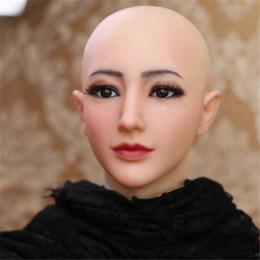 $enCountryForm.capitalKeyWord Australia - Hot Soft Silicone female silicone masks halloween crossdress silicone Face Head Mask full face Head masquerade masks for adults cosplay