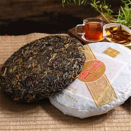 black tea sale Australia - 200g Chinese Organic Black Tea Fengqing Ancient Tree Yunnan Dianhong Red Tea Health Care New Cooked Tea Green Food Factory Direct Sales