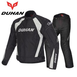$enCountryForm.capitalKeyWord Australia - DUHAN motorcycle riding clothes suit Winter man Moto Racing suits jacket pants