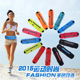 $enCountryForm.capitalKeyWord Australia - Outdoor Sport Run Pocket Personal Ultrathin Mobile Phone Package Men And Women Marathon Belt Package Customize