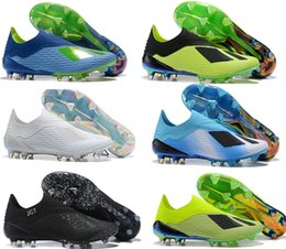 fd097d500a8 2019 Multicolor plating sole Mens High Ankle Football Boots X 18 FG Soccer  Shoes X 18+ Speedmesh X18 Speed Mesh Outdoor Soccer Cleats