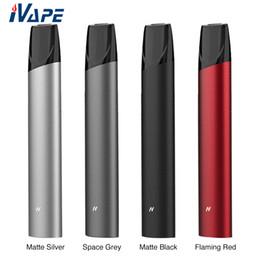 Side pen online shopping - 100 Original Rincoe Neso X Pod System Kit Built in mAh with ml Side Refillable Cartridge Pen style Air driven Pod Starter kit